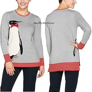 C. Wonder NWT Knit Intarsia Penguin Sweater
